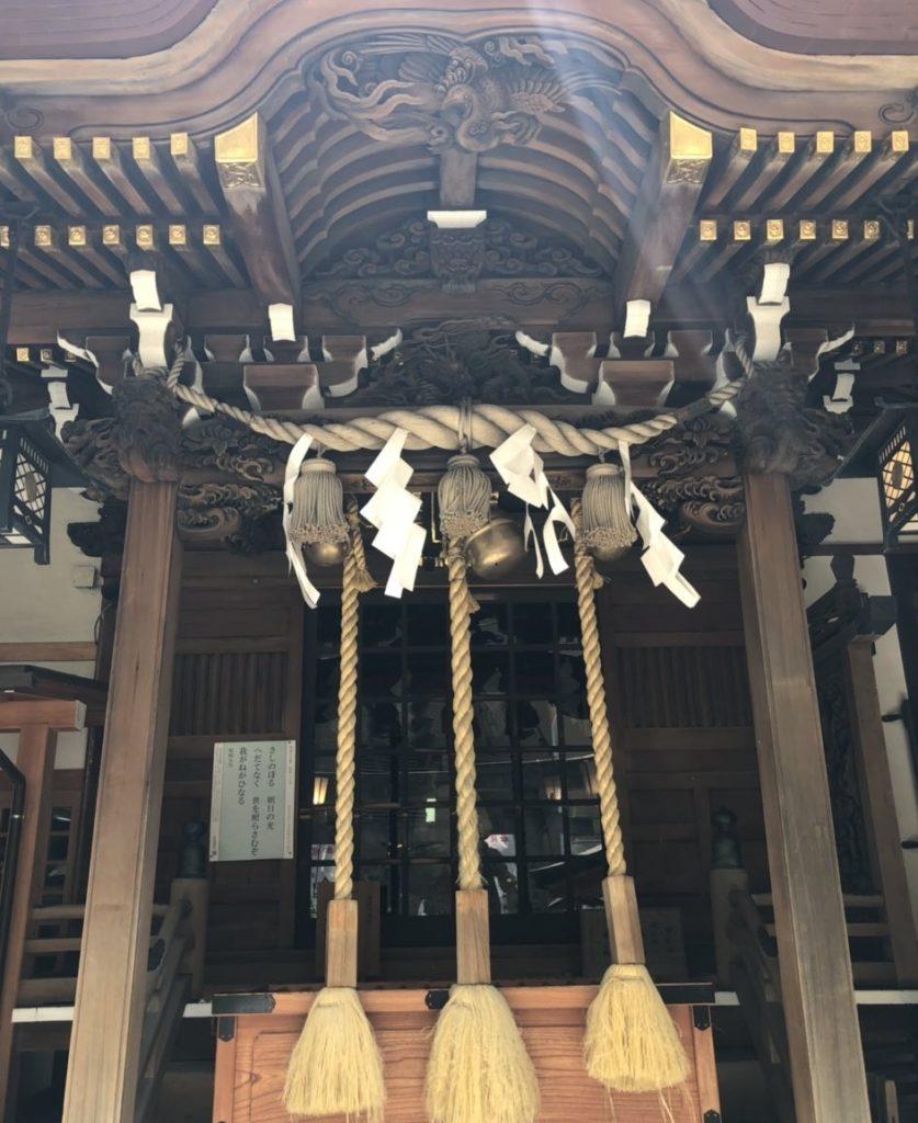 小網神社社殿