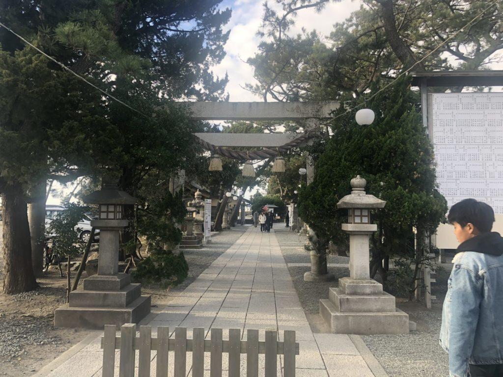 森戸神社鳥居