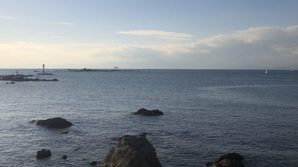 森戸神社海岸