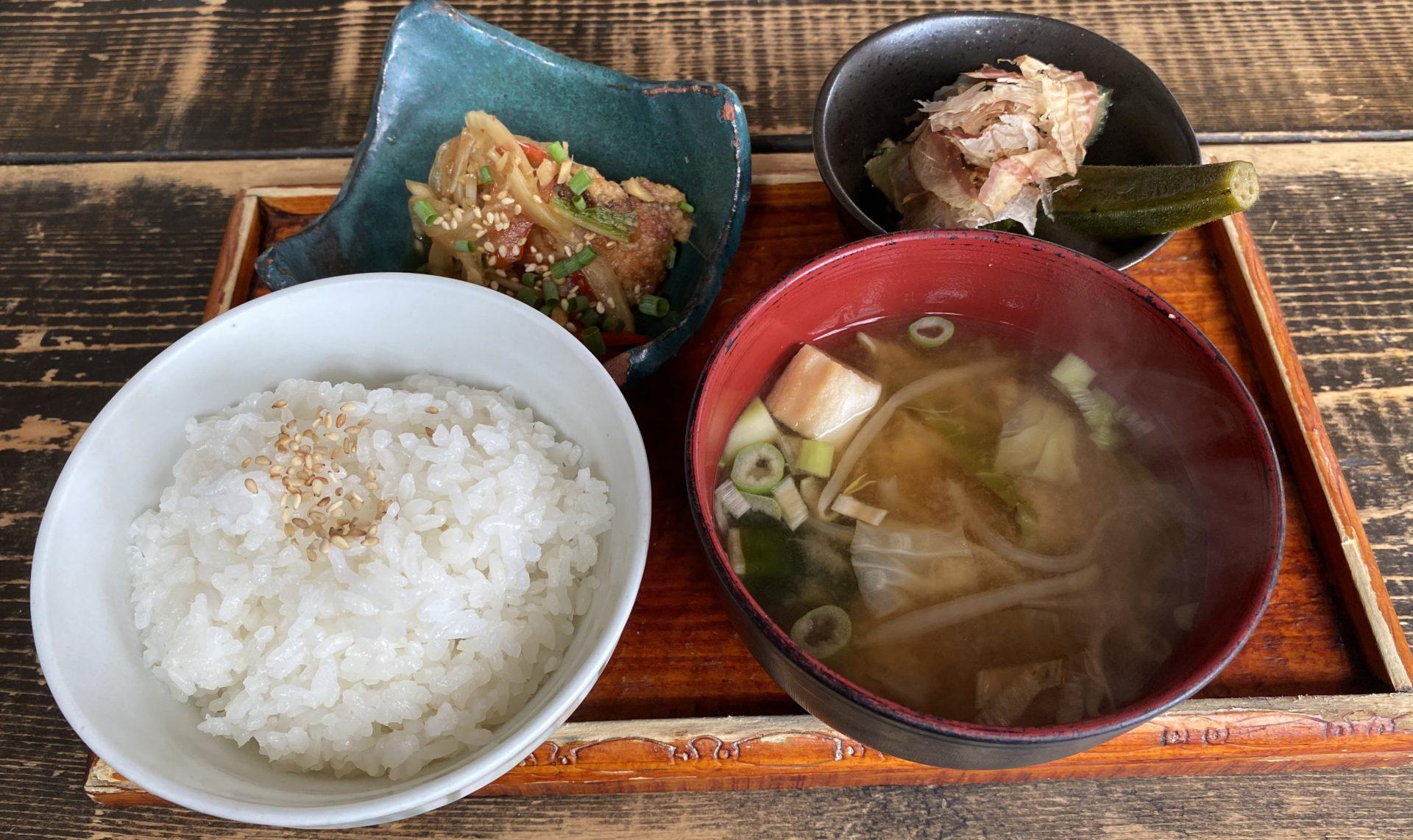 生姜料理小鉢
