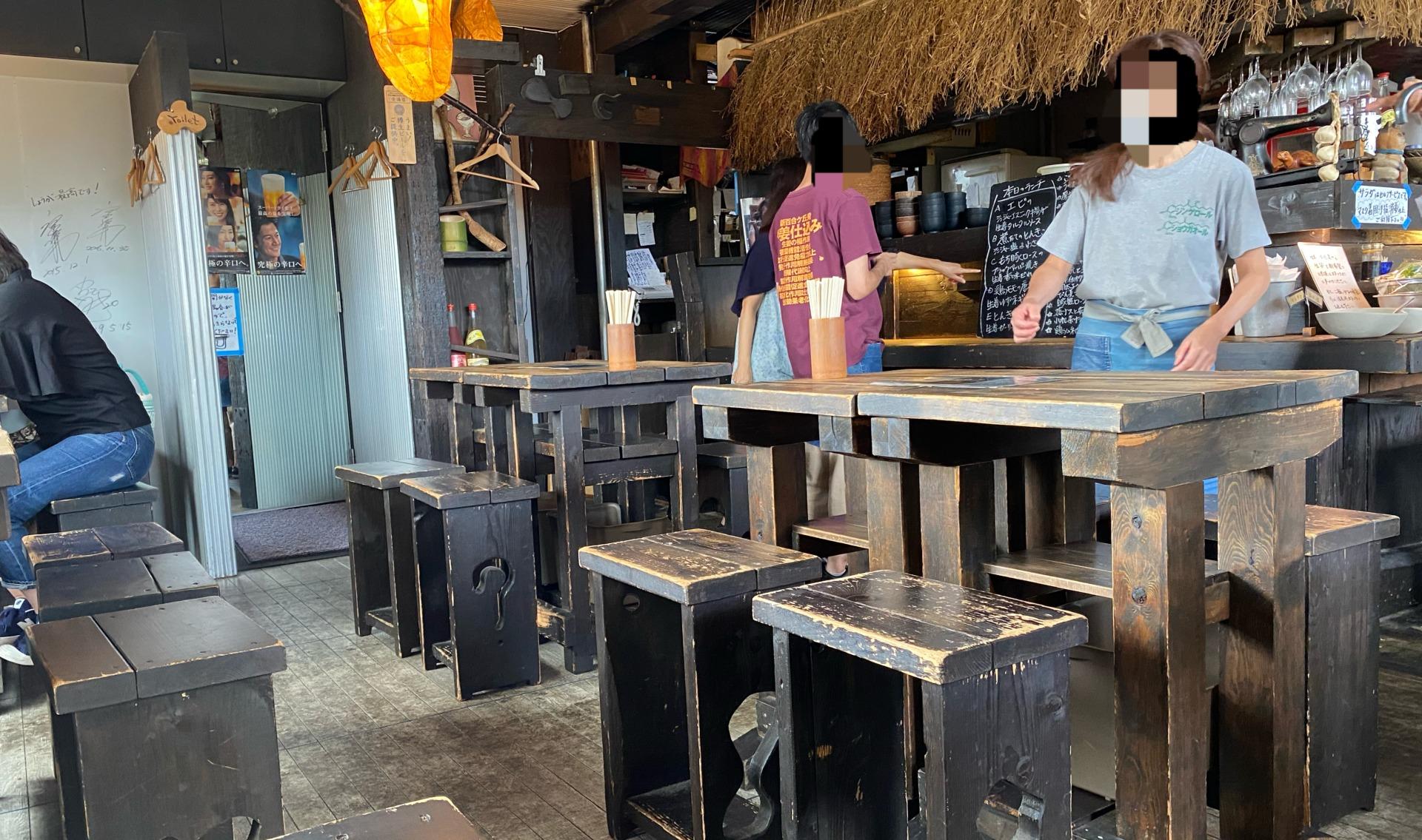 生姜料理しょうがお店雰囲気