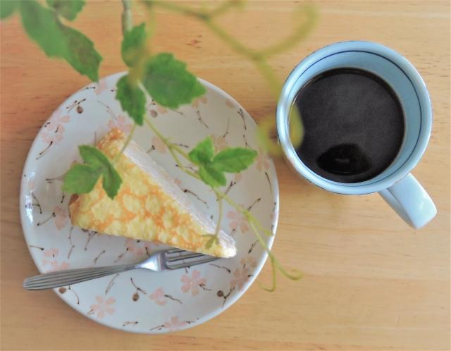 ミルクレープ コーヒー
