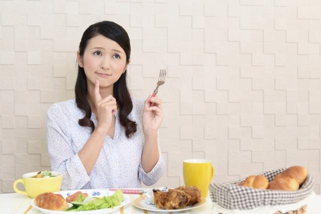女性 朝食