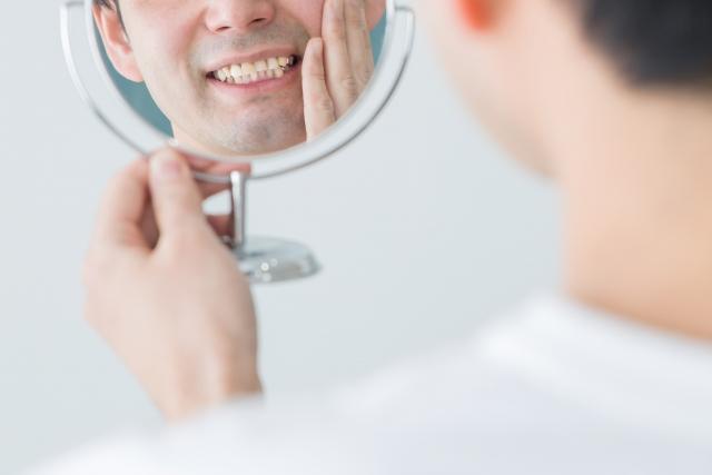 男性 歯 鏡