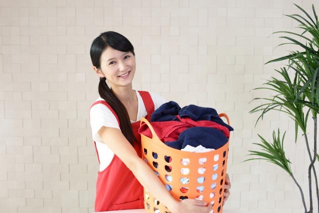 女性 洗濯